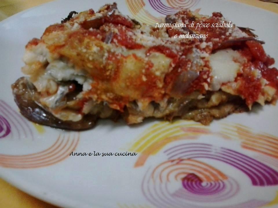 Parmigiana di pesce sciabola e melanzane
