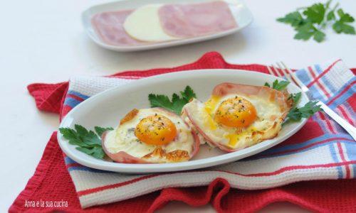 Uova al forno saporite