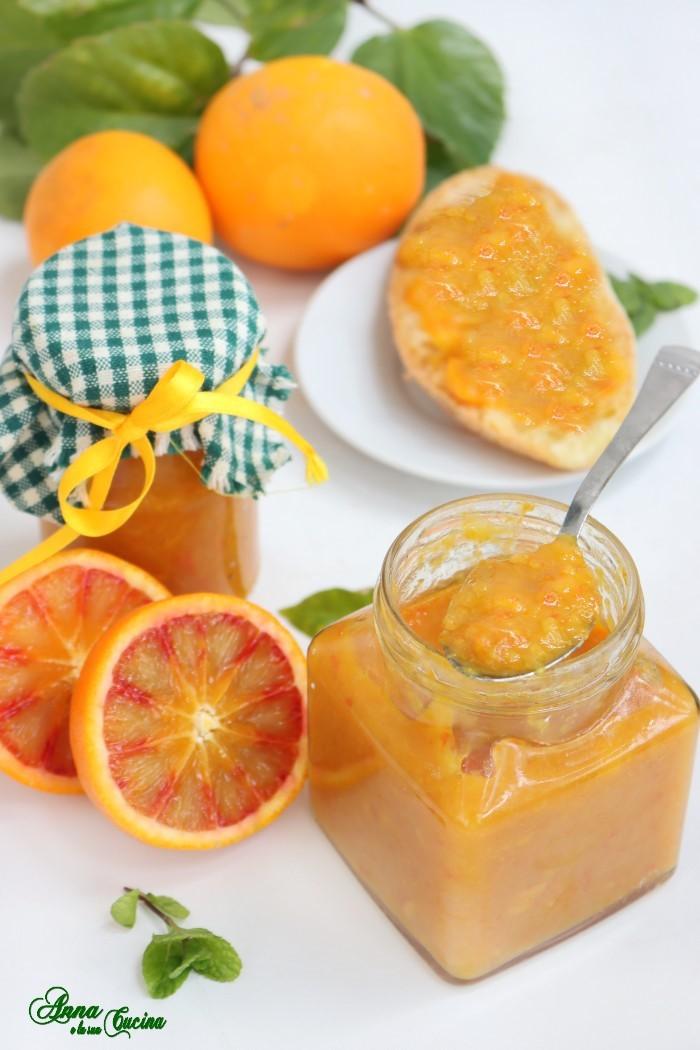 Marmellata di arance biologiche