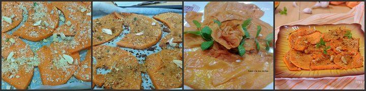 Zucca al forno ammollicata
