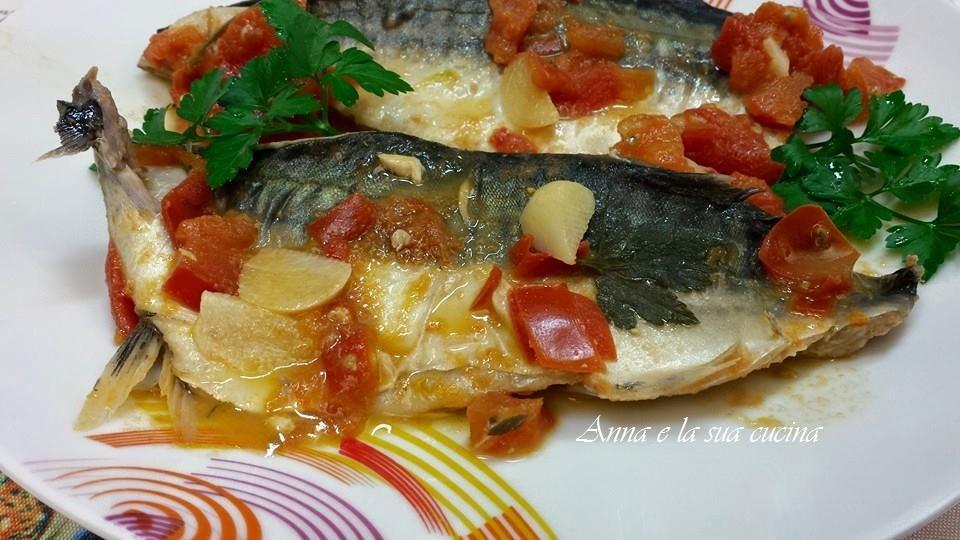 Sgombro con pomodorini / Anna e la sua cucina