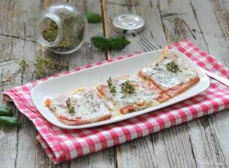 Pizzette di prosciutto