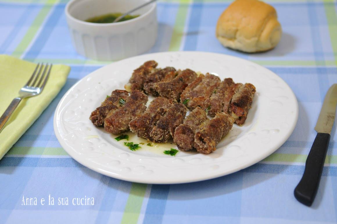 Involtini di carne al forno anna e la sua cucina for Cucinare e congelare