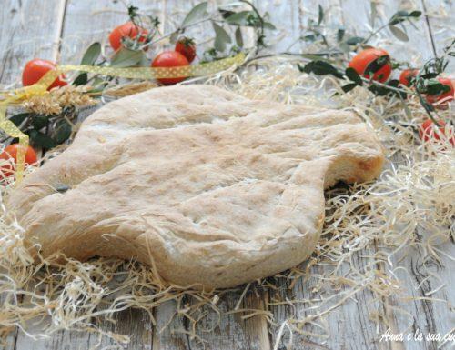 Pane colomba con farine miste
