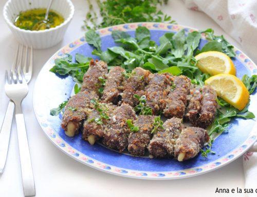 Involtini di carne al forno con salmoriglio