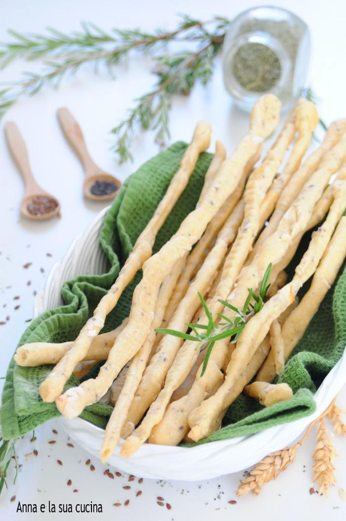 Ricetta Grissini Con Semi Di Zucca.Grissini Friabili Con Semi Misti Anna E La Sua Cucina