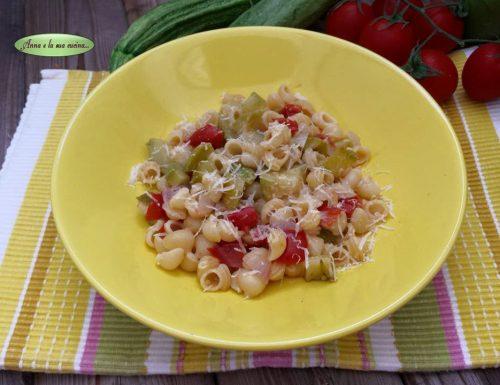 Lumachine con verdure