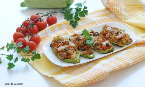Zucchine con tonno