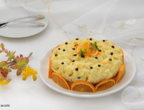 Torta profumata all'arancia
