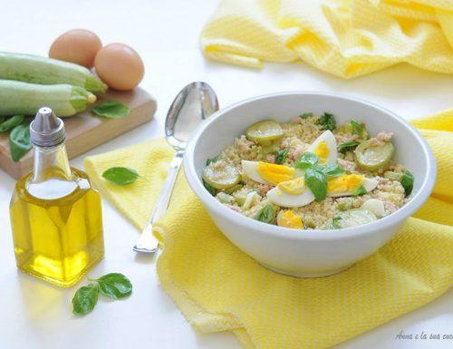 Cous cous con tonno e zucchine
