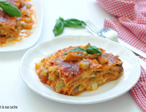 Pasta riccia con verdure al forno