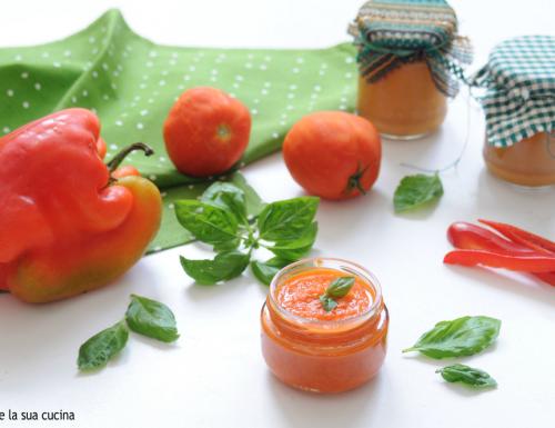 Sugo ai peperoni e pomodori