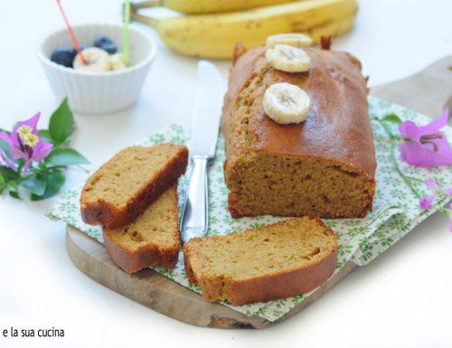 Plumcake alla banana con farina timilia