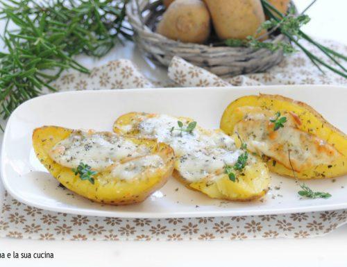 Barchette di patate saporite