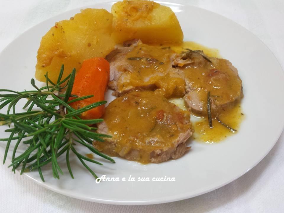 Filetto di maiale con patate   Anna e la sua cucina