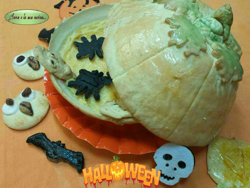 Zucca biscottosa di halloween