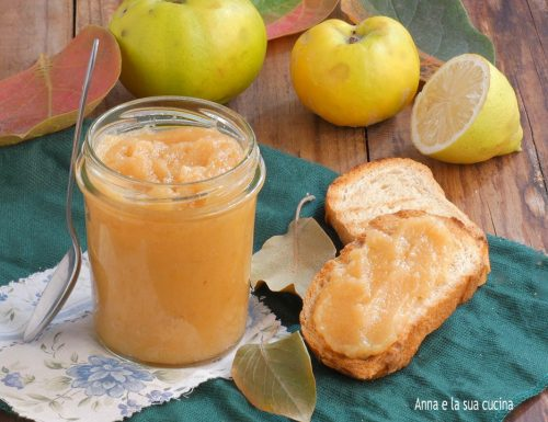 Confettura di mele cotogne sterilizzata