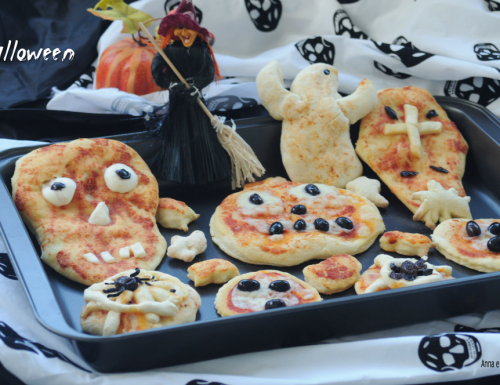 Pizzette di halloween morbide