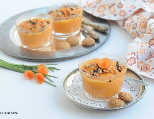Crema dolce di zucca e carote