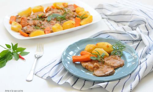 Filetto di maiale con patate