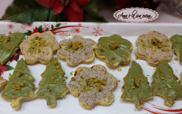 Cialdine natalizie con creme miste