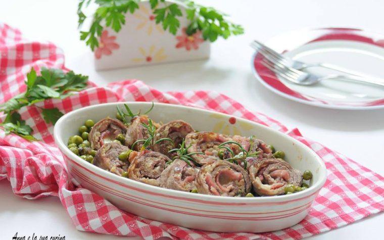Braciole di carne con piselli