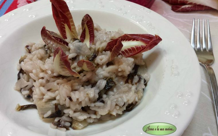 Risotto con radicchio