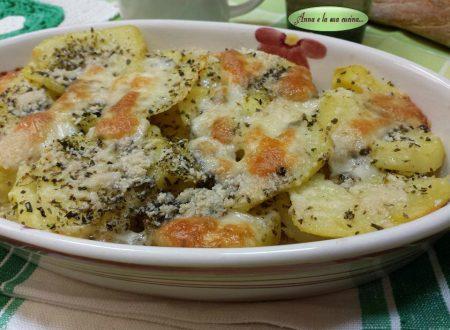 Patate al forno aromatizzate