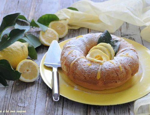 Ciambella profumata al limone