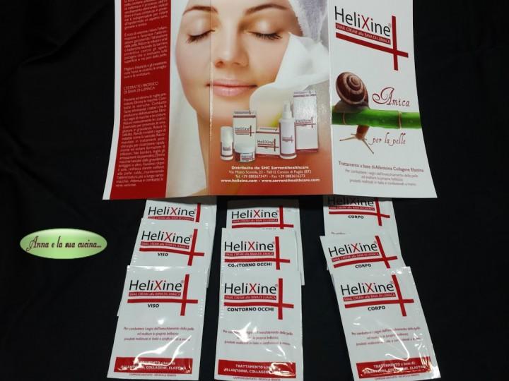 Collaborazione HeliXine prodotti alla bava di lumaca