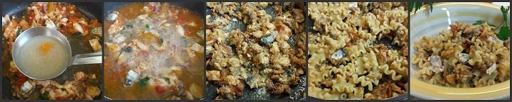 Mafaldine con filetti di sgombro