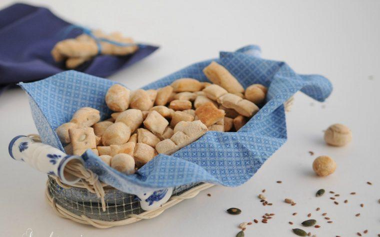 Salatini croccanti aromatizzati