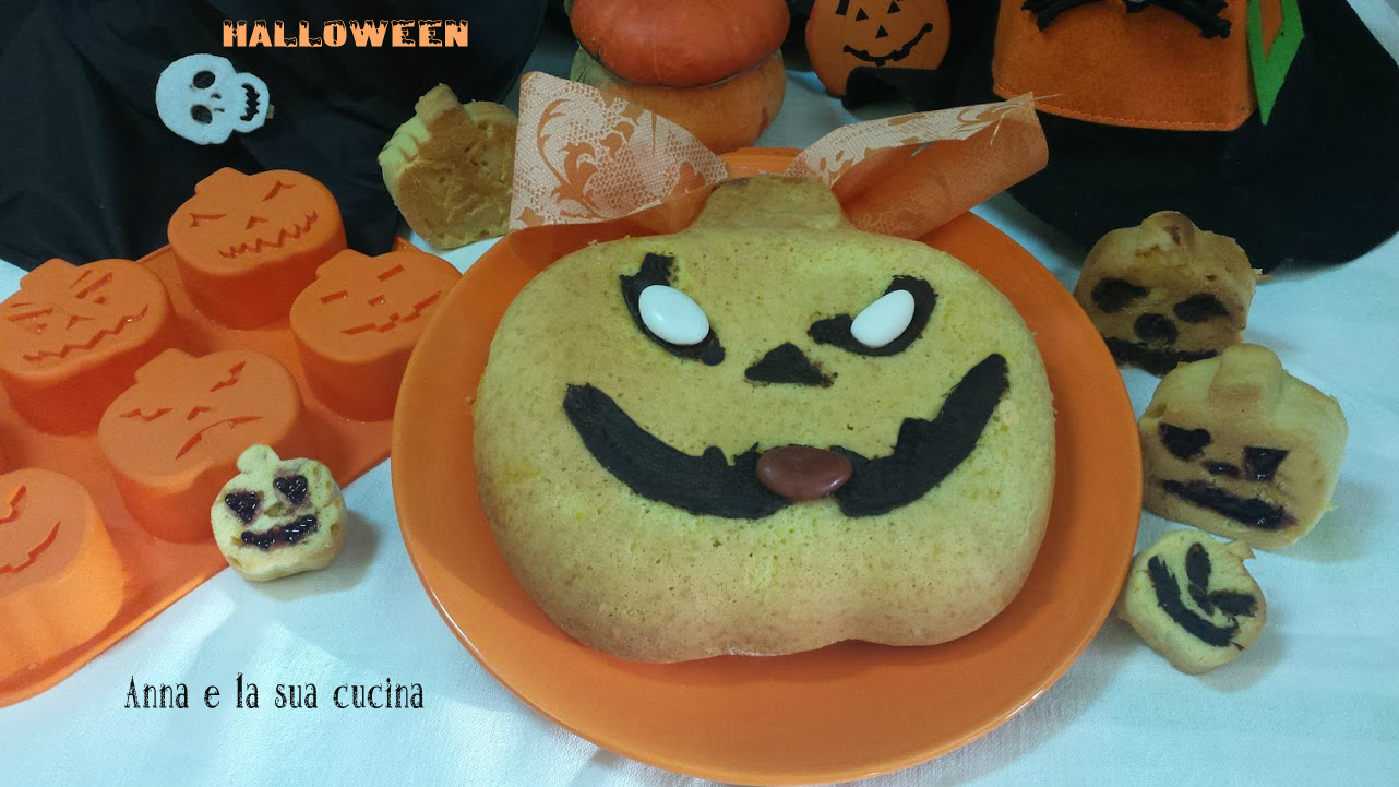 Dolce di Zucca di Halloween