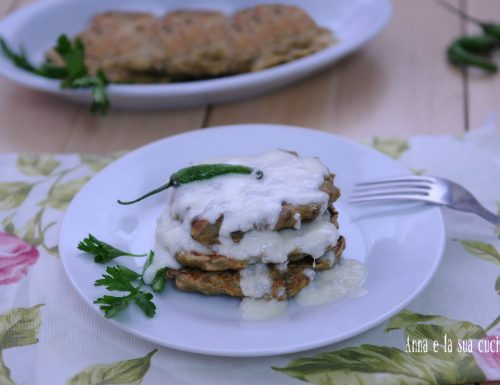 Frittelle di lenticchie con gorgonzola