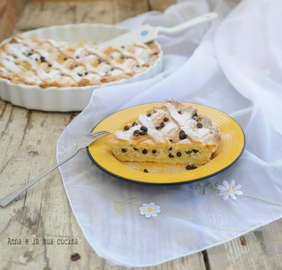 Crostata con Ricotta, Cioccolato e Cannella