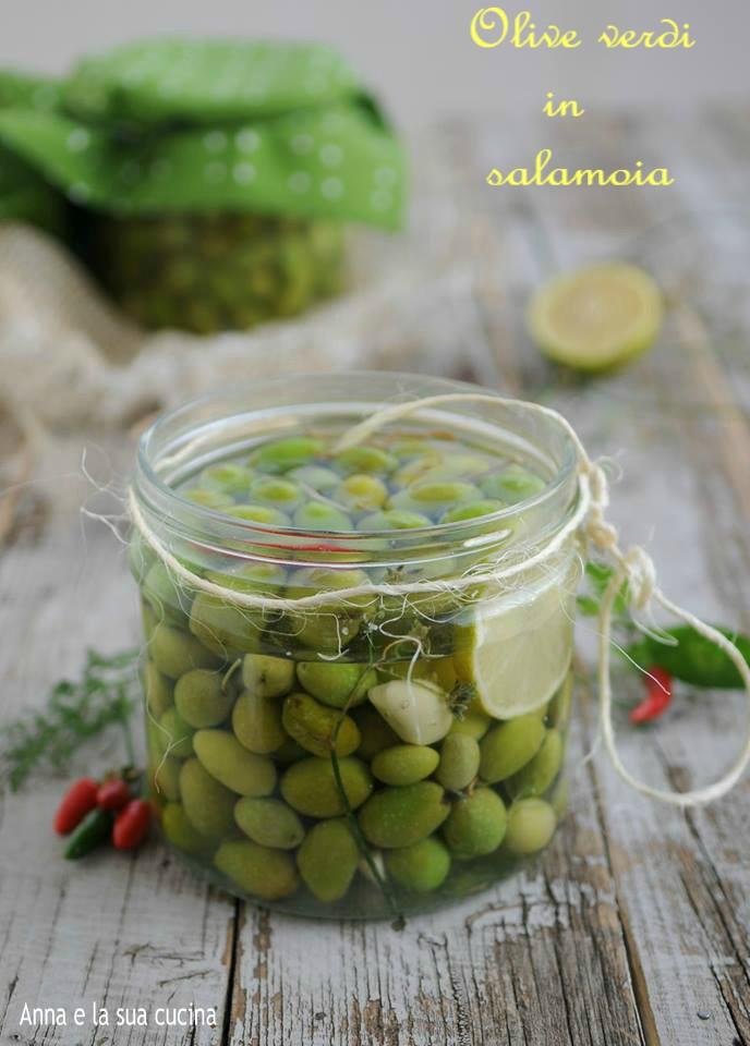 Olive verdi in salamoia e aromi anna e la sua cucina - Aromi in cucina ...