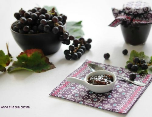 Confettura di uva mista