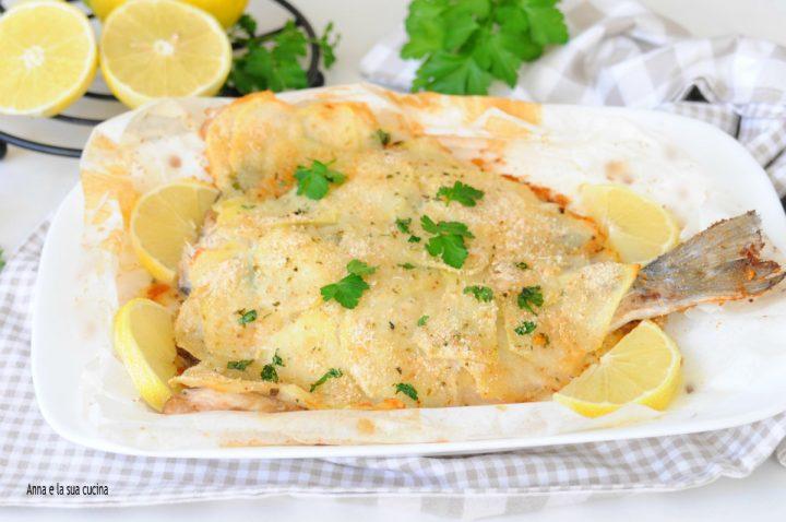 Ricetta Orata Sfilettata Al Forno Con Patate.Filetti Di Orata In Crosta Di Patate Anna E La Sua Cucina