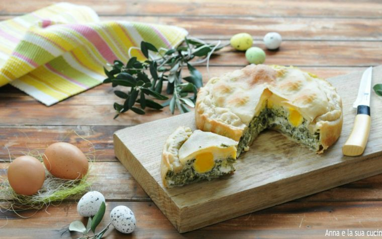 Torta Pasqualina con robiola