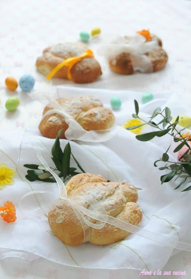 Colombine di pan brioche senza formine