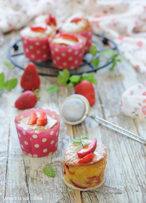 Tortine soffici alle fragole