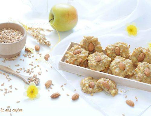 Biscotti morbidi dietetici con farro cotto