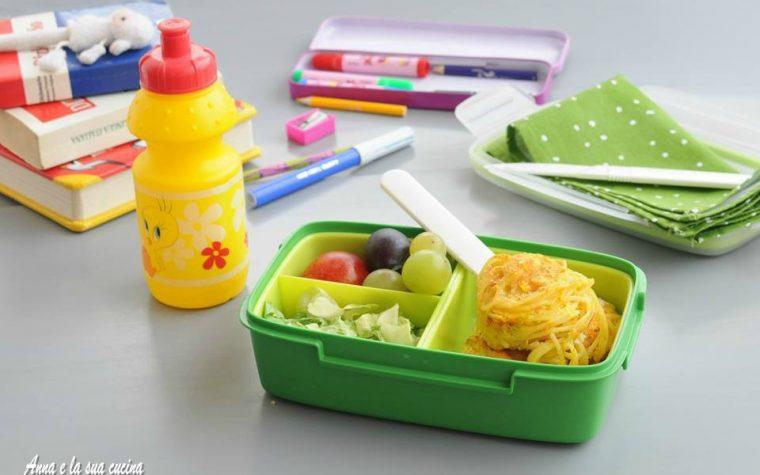Pranzo scuola: frittatine di pasta e verdure