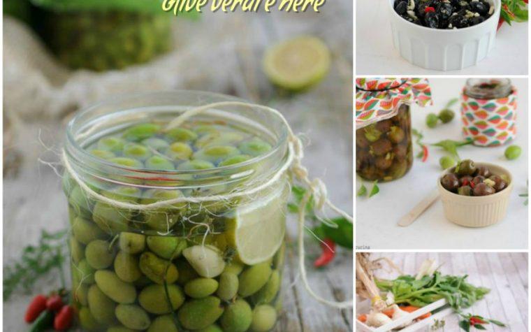 Come conservare le olive verdi e nere