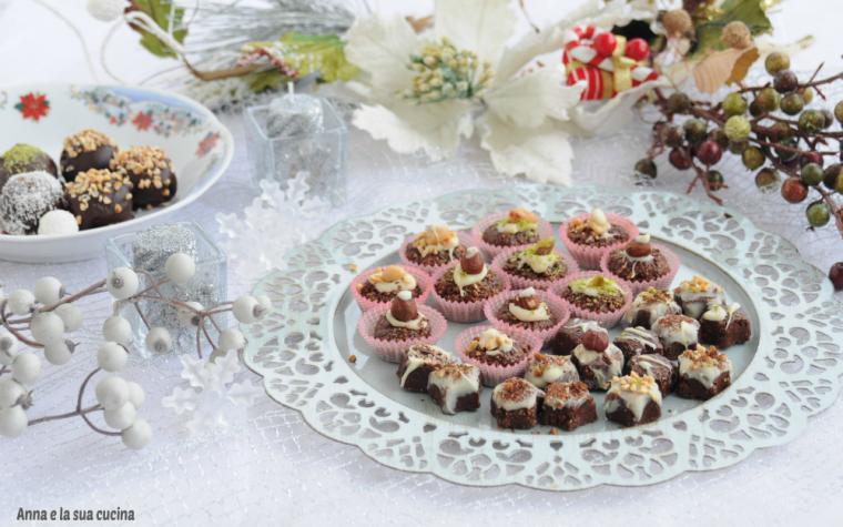 Croccantini al cioccolato e frutta secca