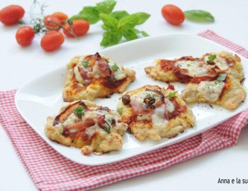 Fette di tacchino alla pizzaiola