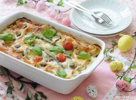 Lasagne con verdure primaverili