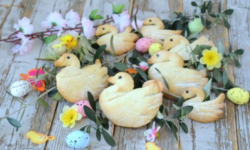 Paperelle di biscotto con nutella