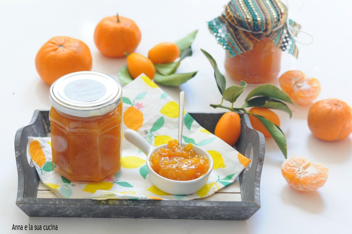 Marmellata mista di mandarini e kumquat