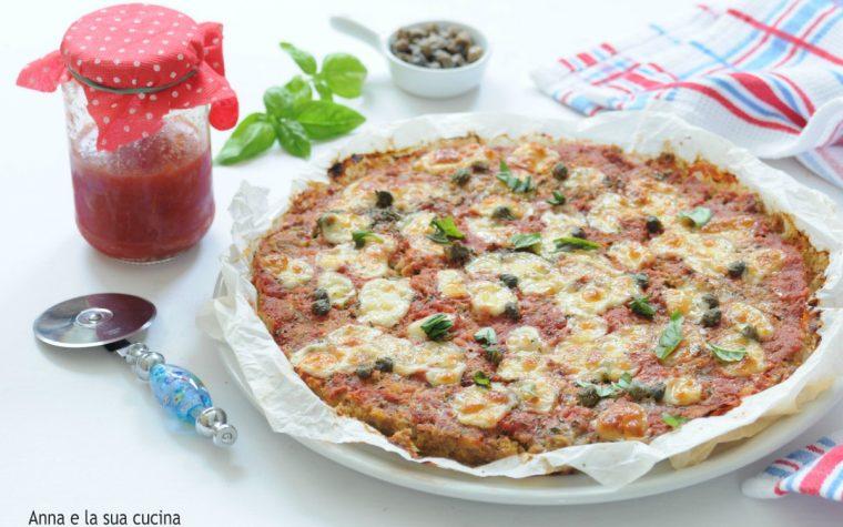 Pizza di polpettone saporita